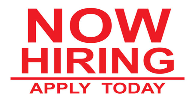 Now Hiring FT Police Officer & PT Maintenance Person