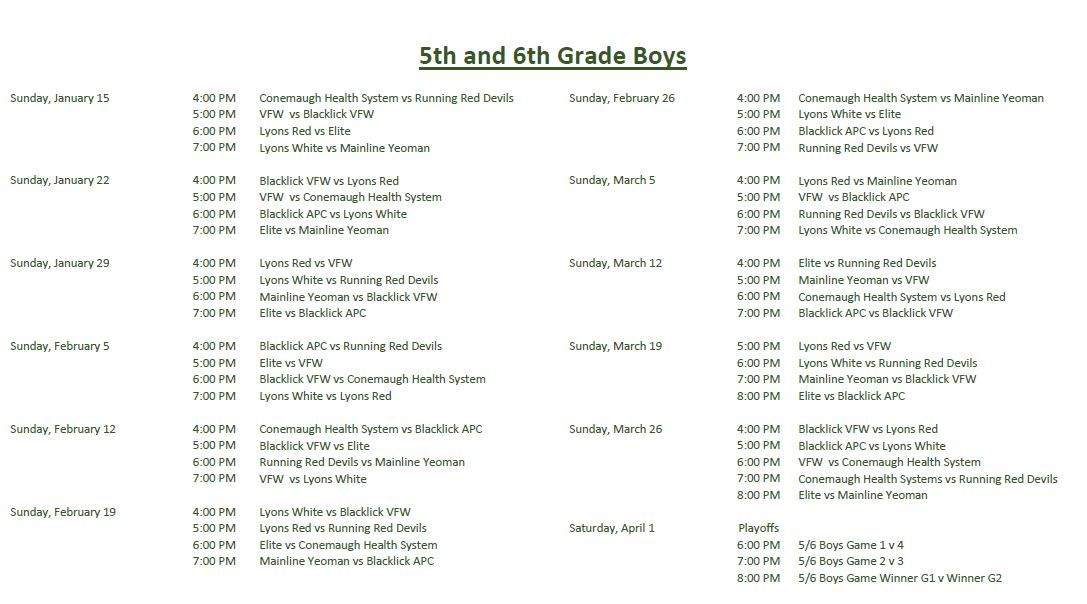 5th-and-6th-boys-winter-league-schedule