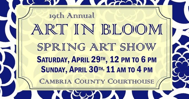 Art in Bloom Spring Art Show – April 29th & 30th