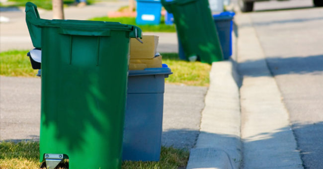 NEW BOROUGH TRASH, RECYCLING PROVIDER & SPRING CLEAN UP