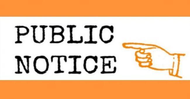 Public Meeting Notices