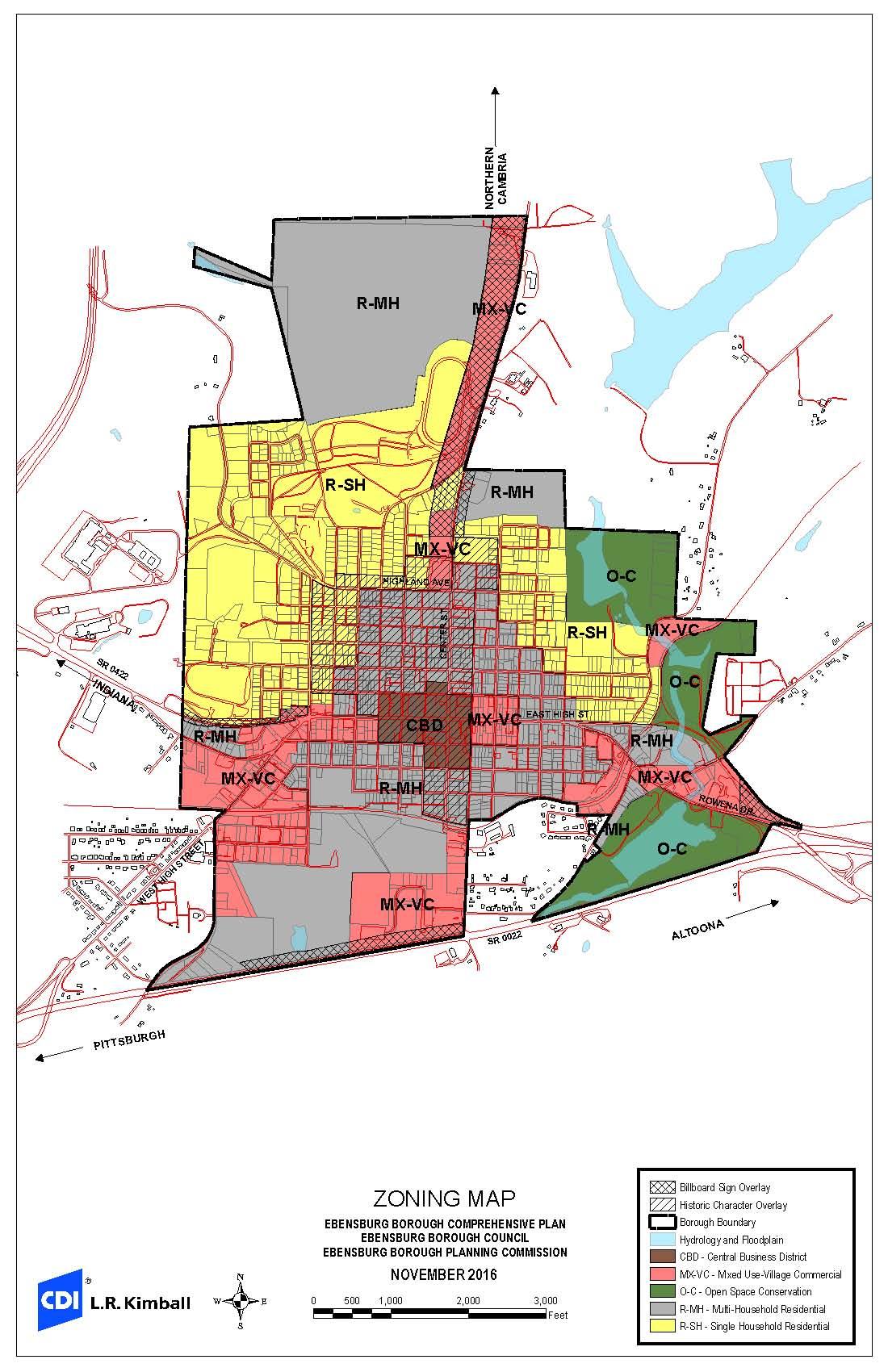 zoning map | ebensburg borough - ebensburgpa