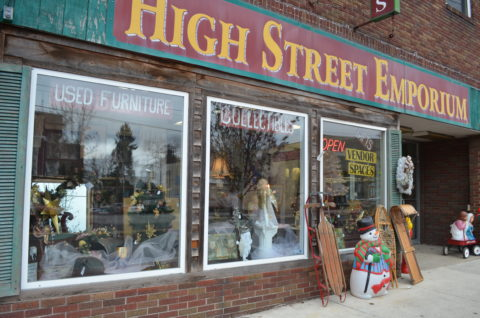 High Street Emporium - Antiques & Collectibles, Downtown Ebesnburg