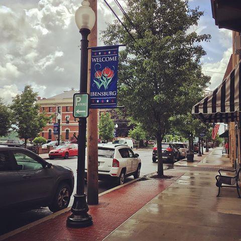 S. Center Street, Downtown Ebensburg