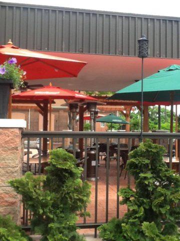 Pour on Center Outdoor Patio, Ebensburg