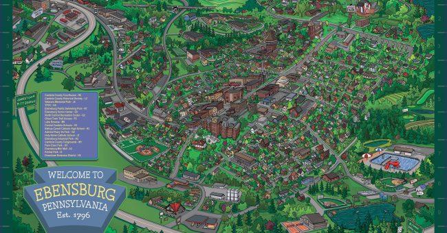 Ebensburg Main Street Partnership Member Directory & Map
