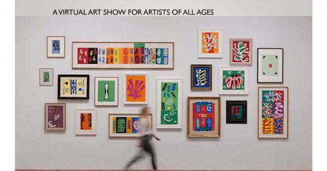 Virtual Art in Bloom Show – Now Open!